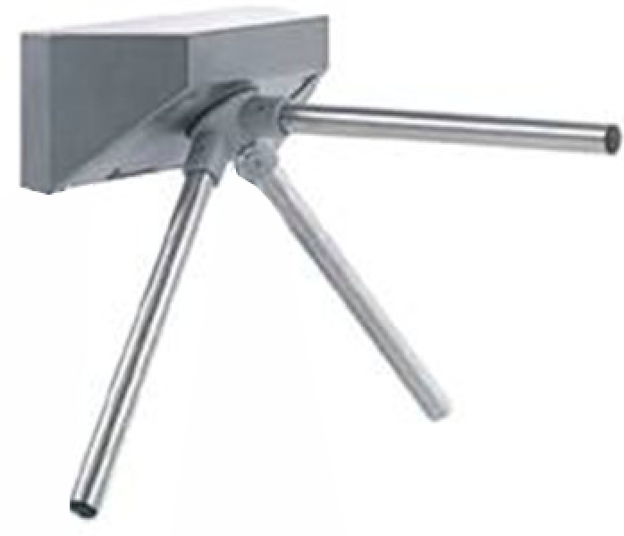 Electronic tripod turnstile for wall mounting PL120 + 130