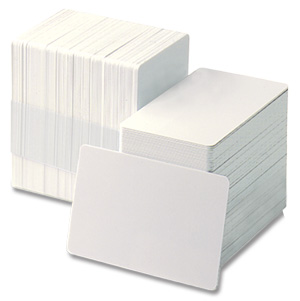 White Plastic PVC Card