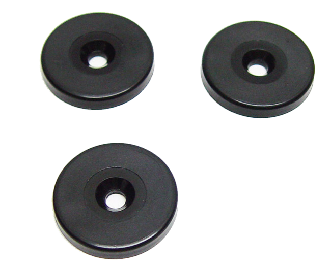RFID disc tag with hole 125 kHz ASK (EM4102 compatible)