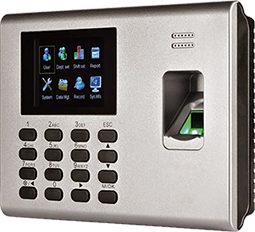 Biometric terminal for access, time & attendance control with RFID - K40