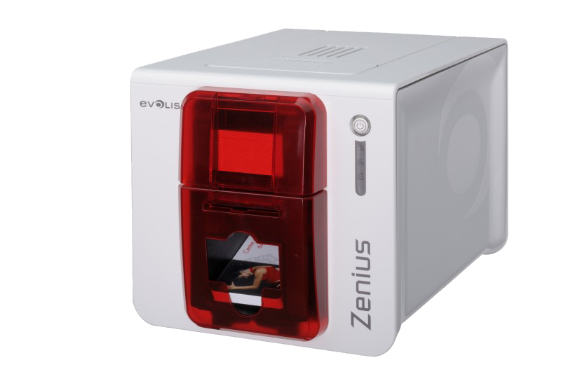 Colour card printer Evolis Zenius  Single side