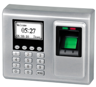 Fingerprint terminal for access, time & attendance control F702